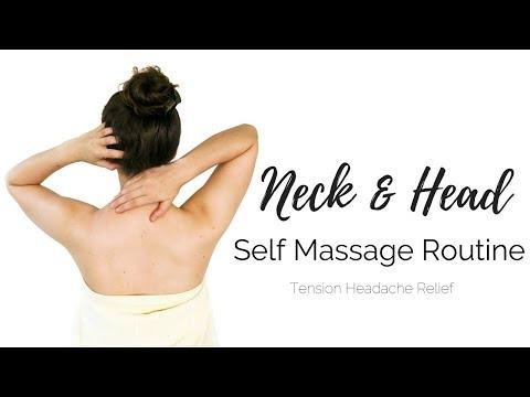 Self Massage Routine   Shoulder, Neck & Head   Tension Headache Relief